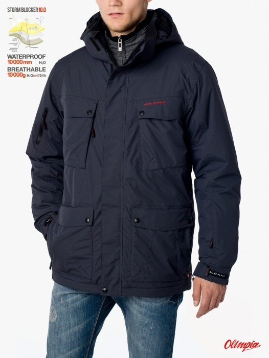 2d5e0a7c21625 Winter Jacket Volcano J-Memphis graphite men - Winter Jackets ...