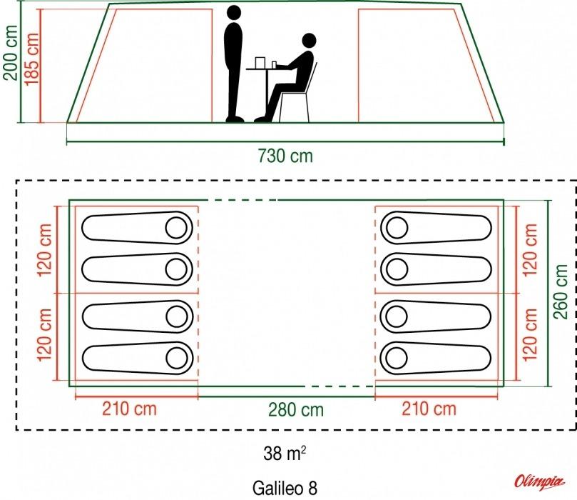 Producer Coleman  sc 1 st  OlimpiaSport & Coleman Galileo 8 8 persons tent - Tents Coleman - Tourist Online ...