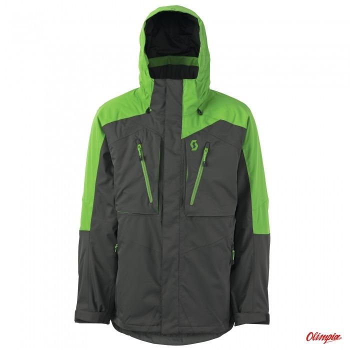 Kurtka narciarska Scott Ultimate Dryo Classic GreenDark Grey Męska 20152016 Archiwum Produktów