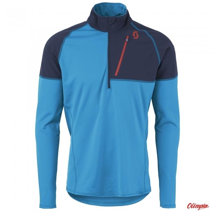 180afdfe586b Pullover Scott Defined Warm Black Iris Vibrant Blue Mens 2015 2016 - Ski  Sweatshirts Fleece Scott - Sports Online Shop - OlimpiaSport.pl -  bikes