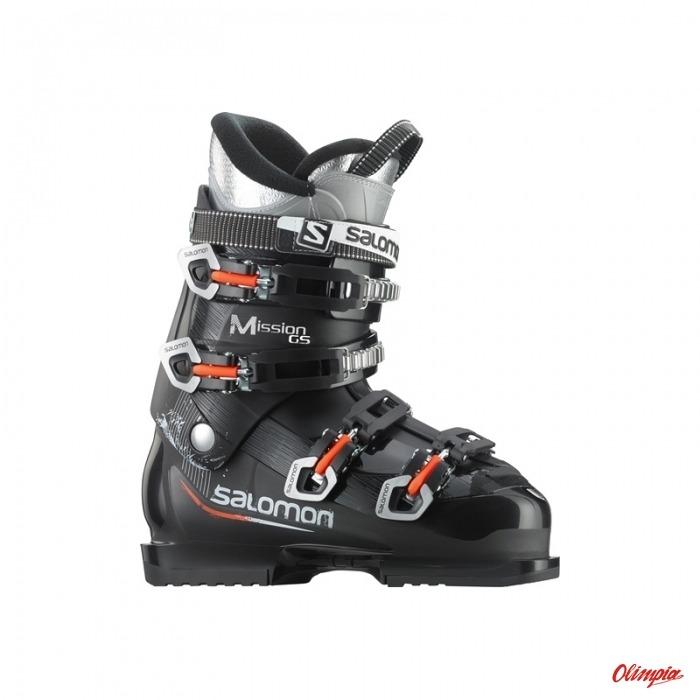 Buty SALOMON MISSION 550 Black Silver 2013 Buty narciarskie