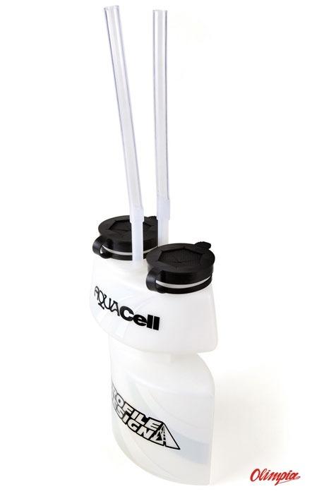 Profile Design Aqua Cell Two Chambers Tri Triathlon Water Bottle 50oz NOS