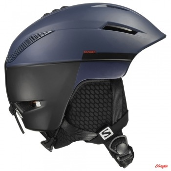 Kask narciarski Salomon ICON 2 C. AIR WISTERIA NAVY BLUE