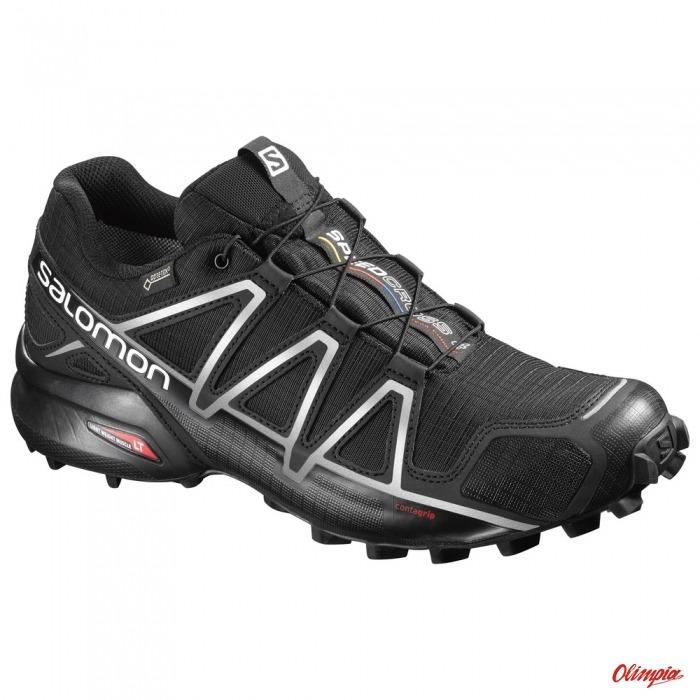 Buty biegowe Salomon Speedcross 4 GTX blackblacksi