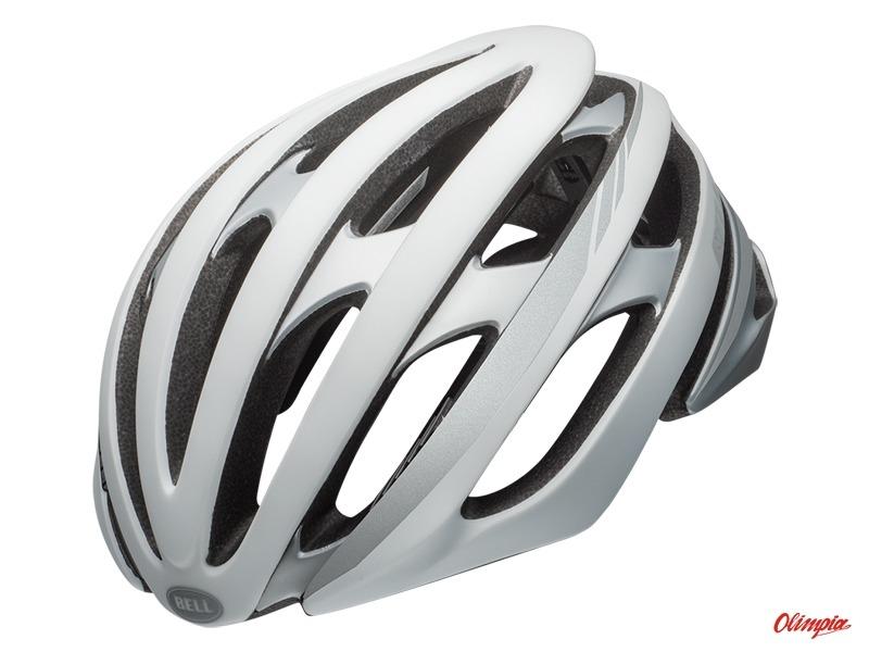c96f452ad92 Kask szosowy Bell Stratus MIPS matte white silver reflective - Road Helmets  Bell - Bikes Online Shop - OlimpiaSport.pl - bikes