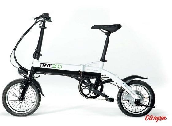 Rower Elektryczny Trybeco Compacta 14 Czarnybiały Rowery