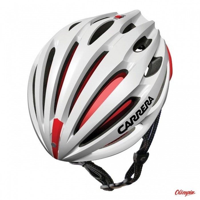 Carrera Nitro white/red Helmet