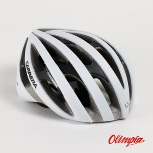 Carrera Razor X-PRESS white matte Helmet