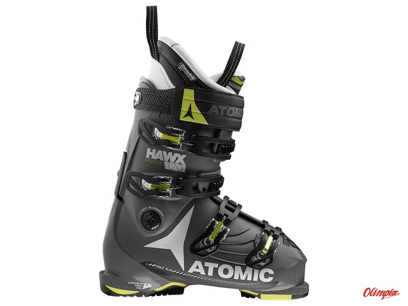 low priced 78c3f cde26 Atomic Hawx Prime 120 Ski Boots Anthracite/black/lime 2016/2017