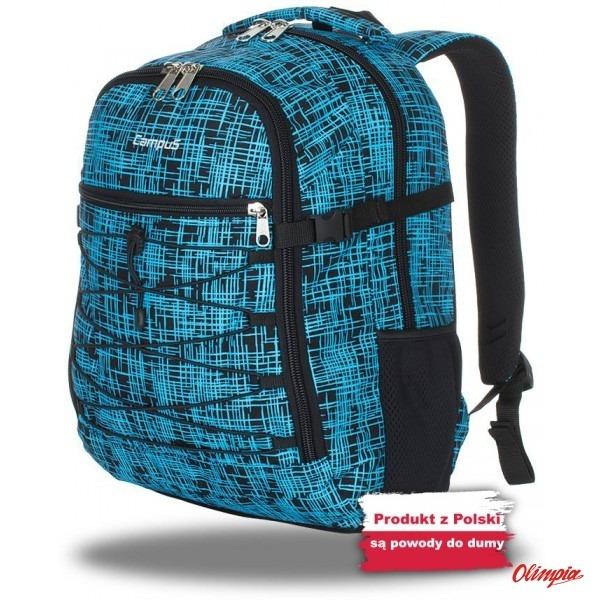 eff6e4658b780 Backpack Campus Murter 35 black-blue - Backpacks 31 - 55 liters ...