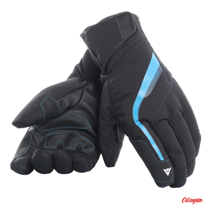comprare on line 51008 e23cf Ski gloves Dainese HP2 stretch limo/blue aster 2017/2018