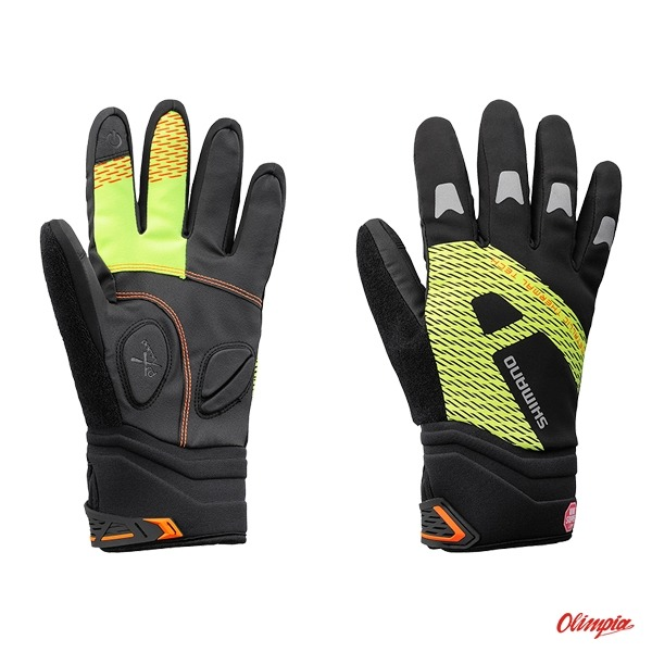 20f1436a4c630a Rękawiczki rowerowe Shimano Windbreak Therm Ref Black/Neon Yellow - Bicycle  long gloves Shimano - Bikes Online Shop - OlimpiaSport.pl -  bikes,bicycles,cube ...