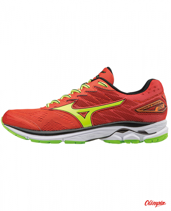 7ddebca412e3 Buty Mizuno Wave Rider 20 J1GC170347 Grenadine  Yellow   Green ...