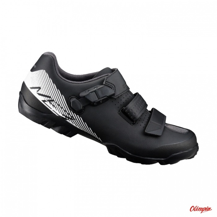 46f8438fa3b062 Shimano SH-ME300 black-white MTB Shoes - MTB Bike Shoes Shimano - Bikes  Online Shop - OlimpiaSport.pl - bikes,bicycles,cube bikes,kross  bikes,kellys bikes ...
