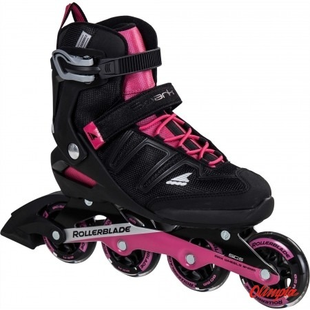 Beste Łyżworolki Rollerblade Spark 80 ST W black/pink - Skates for UJ-97