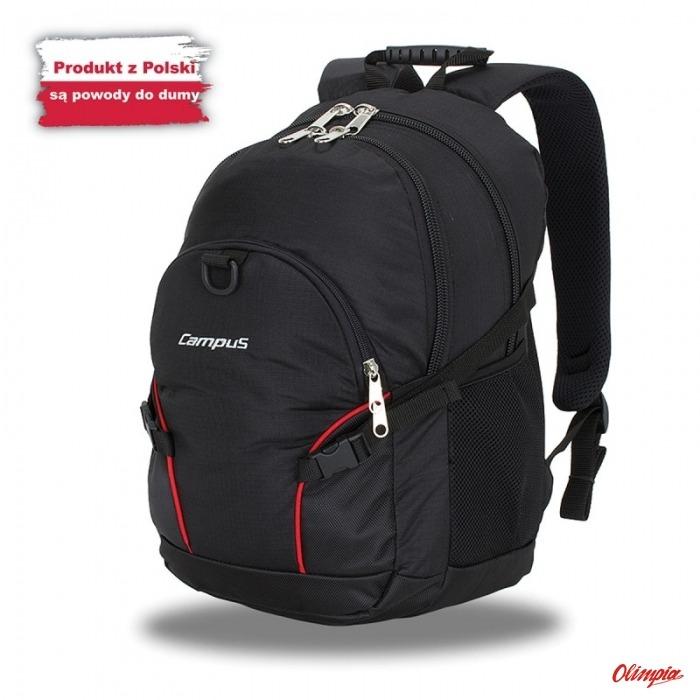 d9262182007c9 Plecak Miejski Campus Kornat 30l czarny - Backpacks to 30 liters ...