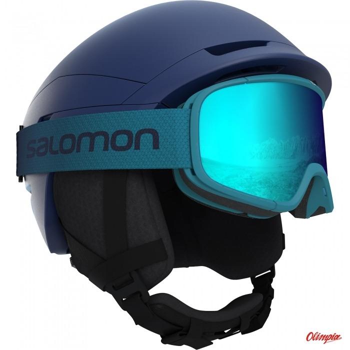 Kask narciarski Salomon Quest Access Dress BlueHaw.Bl sezon