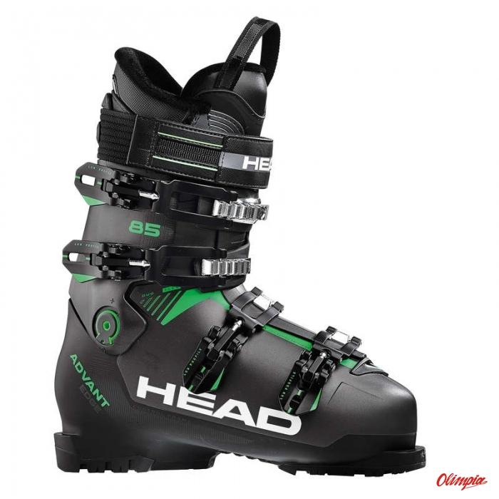 499e8c98a9538 Buty narciarskie Head Advant Edge 85 Anthracite/Black/Green 2018 ...