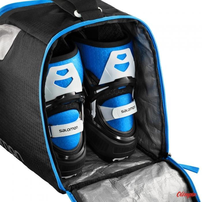 Pokrowiec na buty Salomon Nordic Gearbag Black Proces Archiwum Produktów