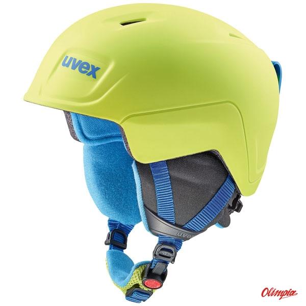 Kask narciarski Uvex Manic pro Limonkowo niebieski mat Archiwum Produktów