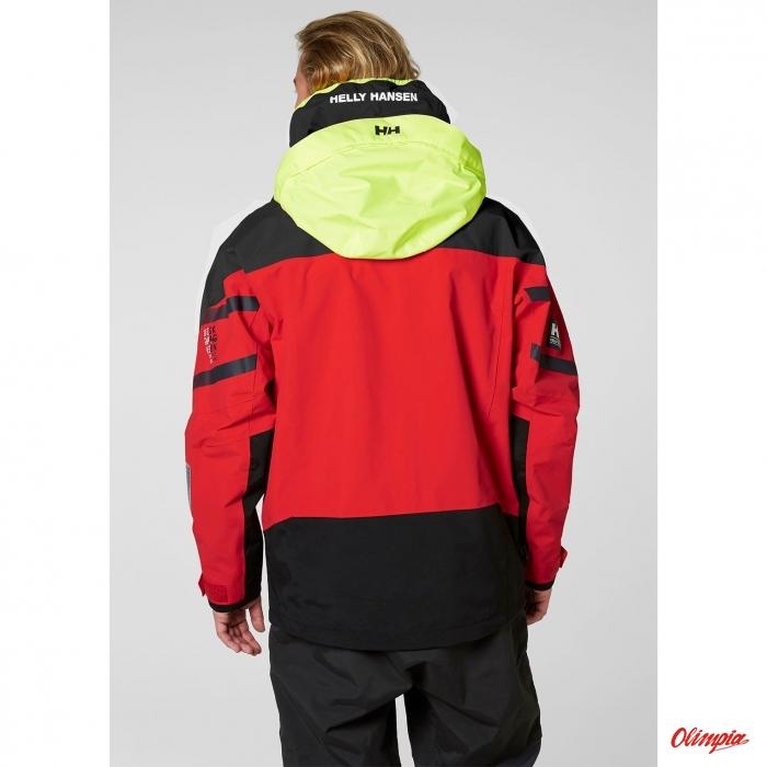 450af24015d69b Kurtka męska sztormiak Helly Hansen Skagen Offshore Jacket czerwona ...