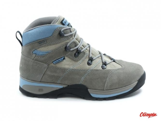 220188de86a Shoes Dolomite Flash Plus GTX szare/jasnoniebieskie - Trekking Shoes ...