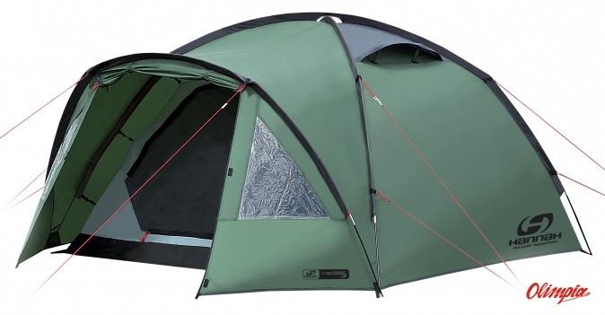 Producer Hannah  sc 1 st  OlimpiaSPORT & Hannah Racoon tent 3 person olive - Tents Hannah - Tourist Online ...