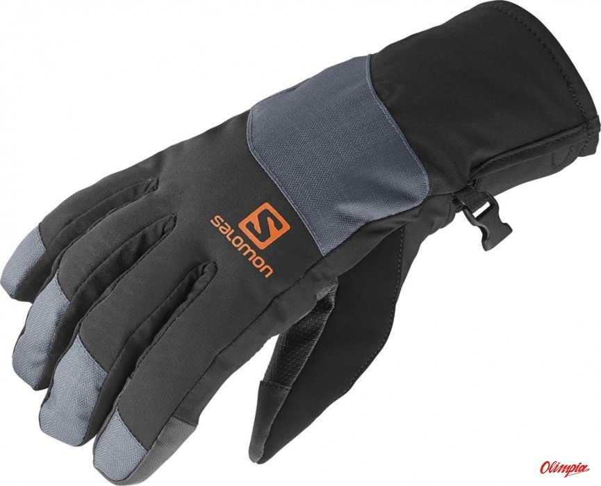 Ski Gloves Salomon Icon GTXŸ M 363564 Black Dark Cloud 2014 2015 ... 3e4213239b